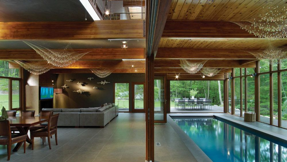 Delightful Hudson Valley Country House, Cold Spring, New York By Fractal Construction  : Home Inspiration