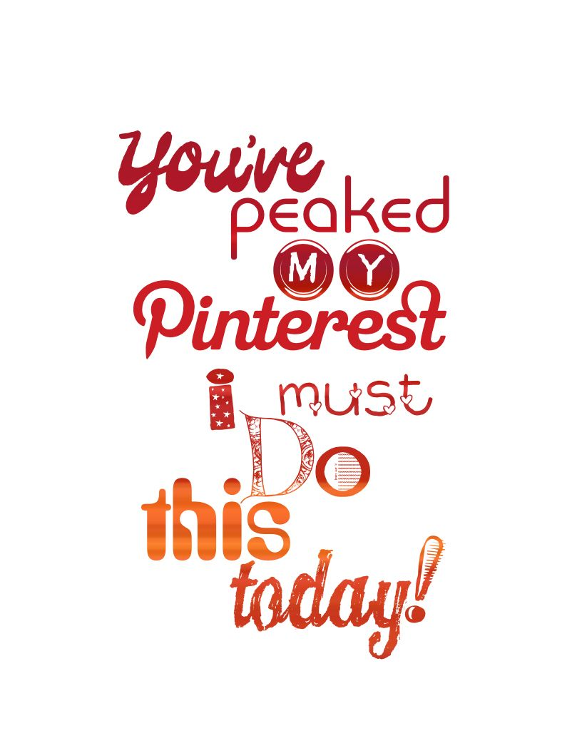 I enjoy Pinterest SO very much! I created this so there's not a link. <3