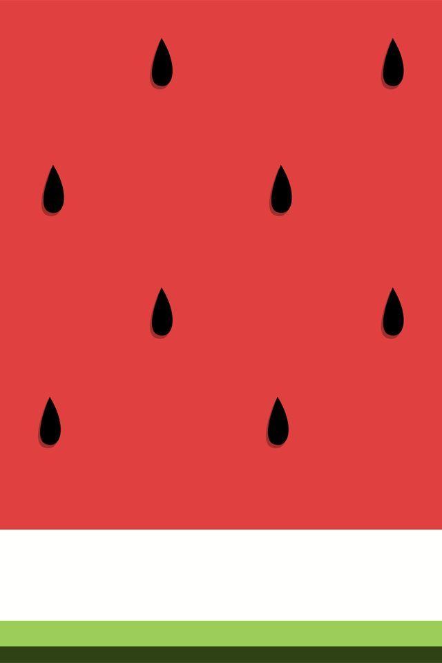 Watercolor Watermelonwallpaper Design Brushmeetspaper Watermelon