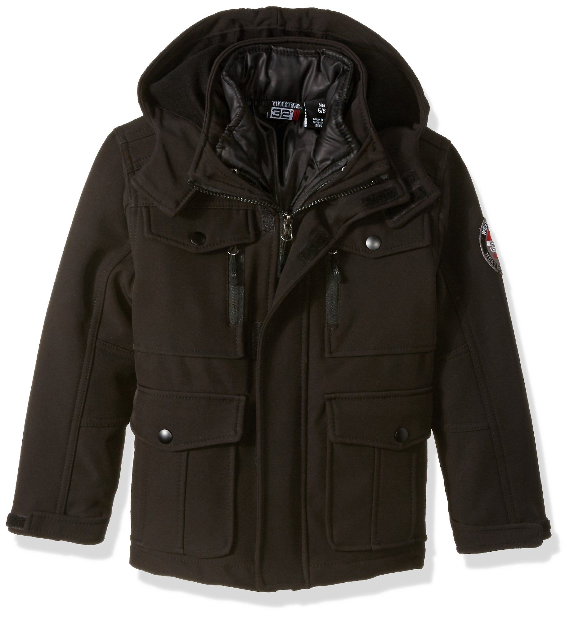 Weatherproof 32 Degrees Little Boys Outerwear Jacket More Styles Available Systems Classic Black 5 6 Want To Know Mor Outerwear Jackets Boy Outerwear Jackets [ 1993 x 1837 Pixel ]