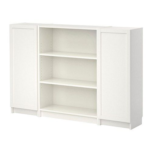 Billy bookcase with doors white ikea for my closet shoes on shelves purses etc in - Toy shelves ikea ...