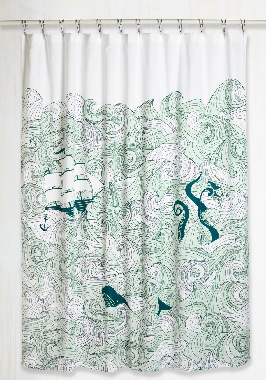 Coral and aqua shower curtain - Find This Pin And More On Estampas Home Gifts Swell Acquainted Shower Curtain
