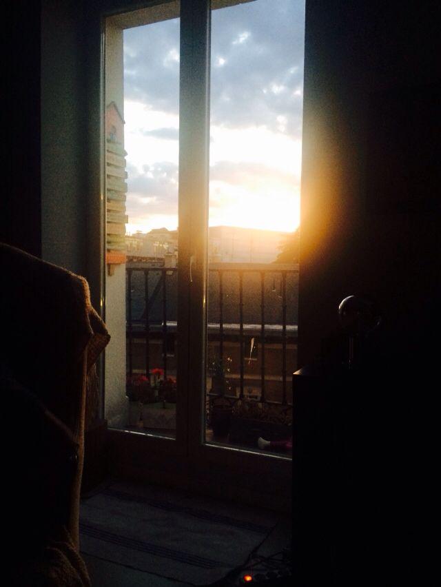 Esa ventana en el piso de Alonso Martínez