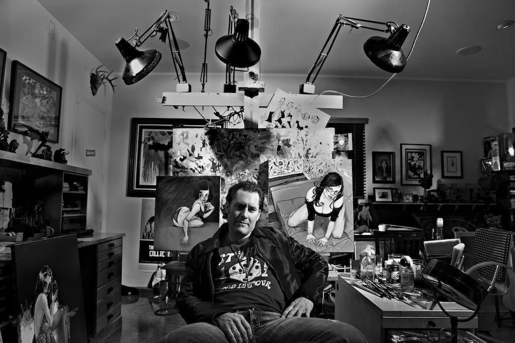 Man Cave Art Studio : Man cave meet the she shed denver life magazine