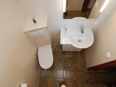 Gäste WC Pfiffige Ecklösung