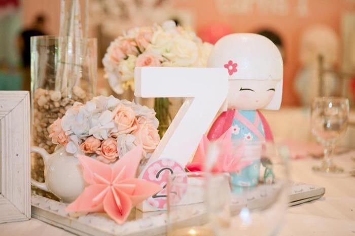 Kokeshi Doll Party Planning Ideas Supplies Kimmi Junior Idea Decor