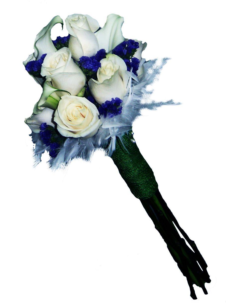 Ramo De Novia Con Calas Y Rosas Blancas Y Con Un Toque De Flores Moradas Www Floreszamora Es Ramo De Novia Rosas Blancas Ramos De Novia