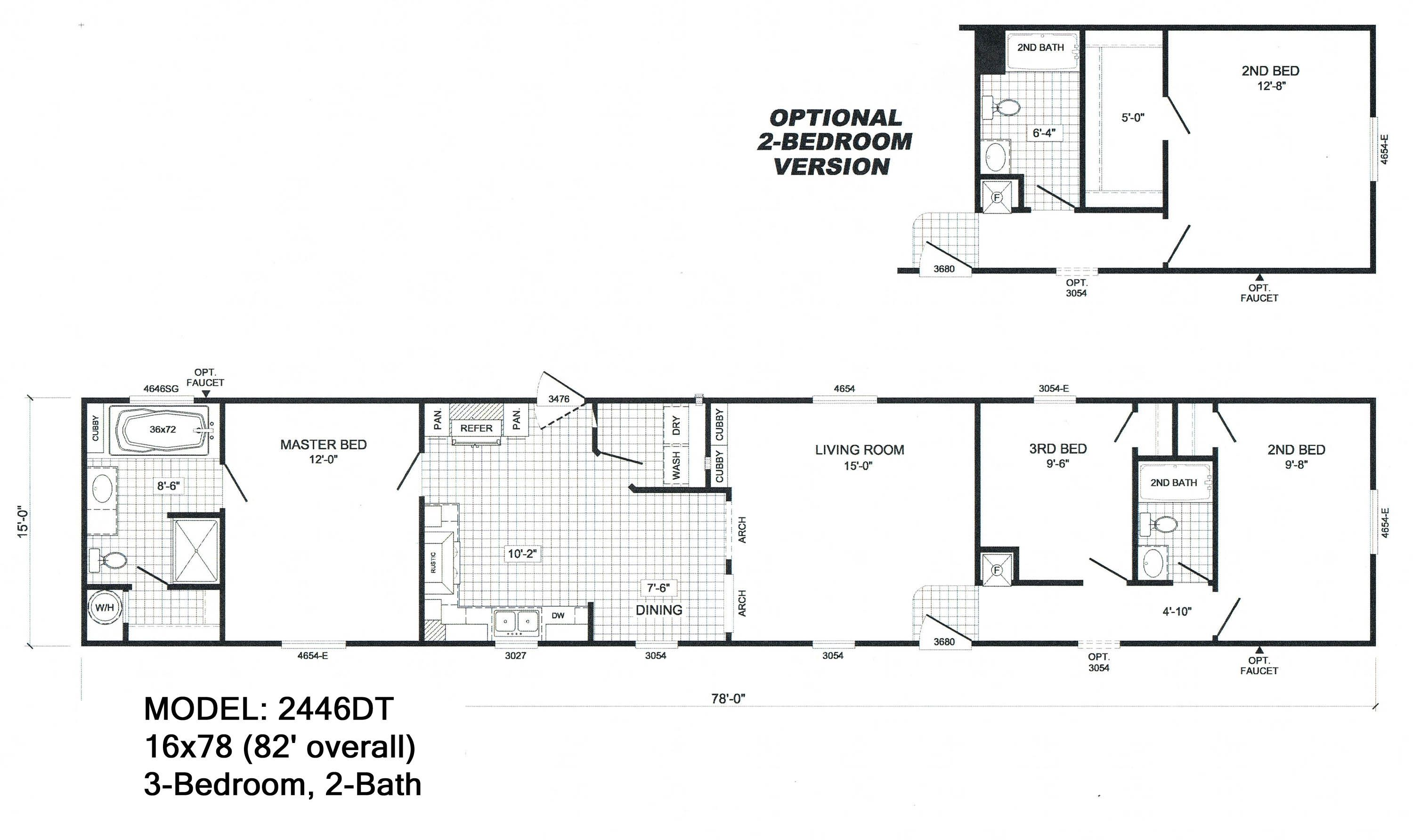 Mobile Homes Floor Plans Single Wide Http Viajesairmar
