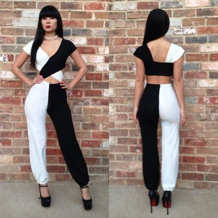 aaa2c14877e 2014 Top Fashion Bandage Women Sexy Club bodysuits Jumpsuits Bodycon Romper  Short jumpsuit for women  27.80