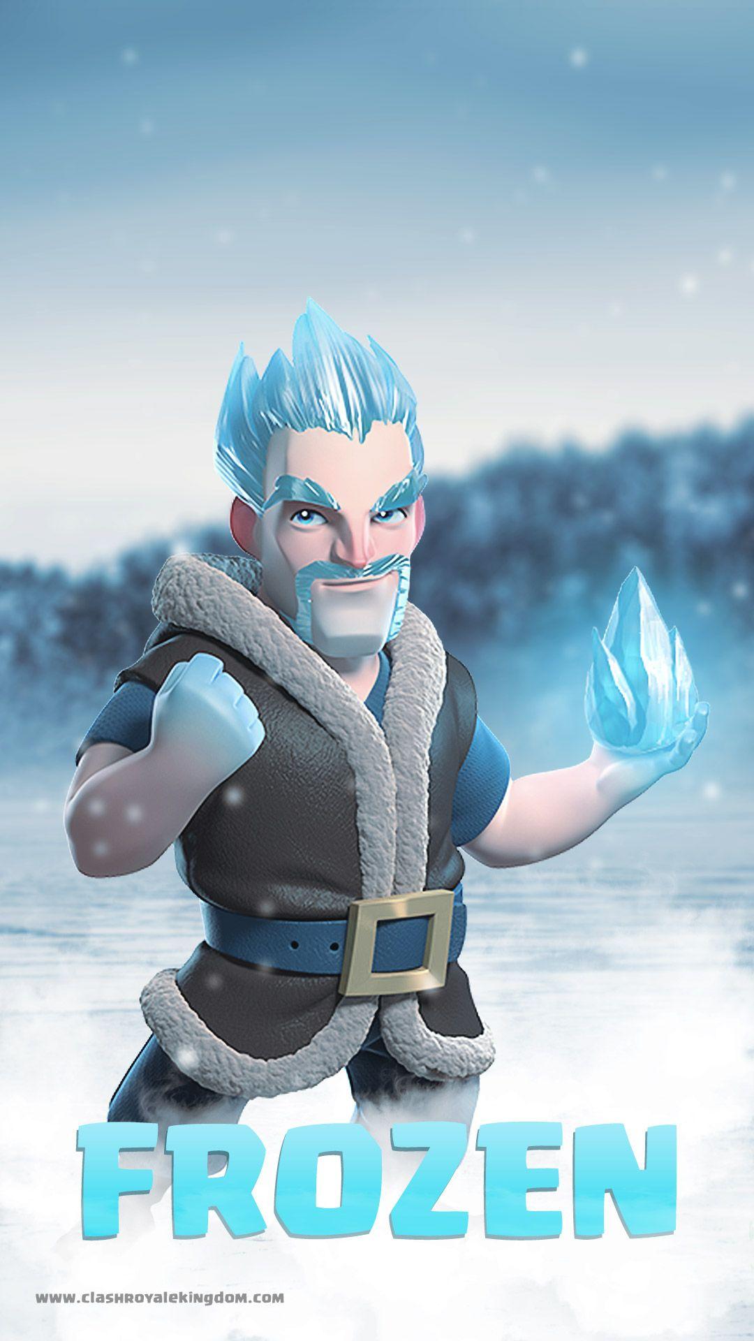 Clash Royale Wallpaper Ice Wizard Clash Royale Clash Of