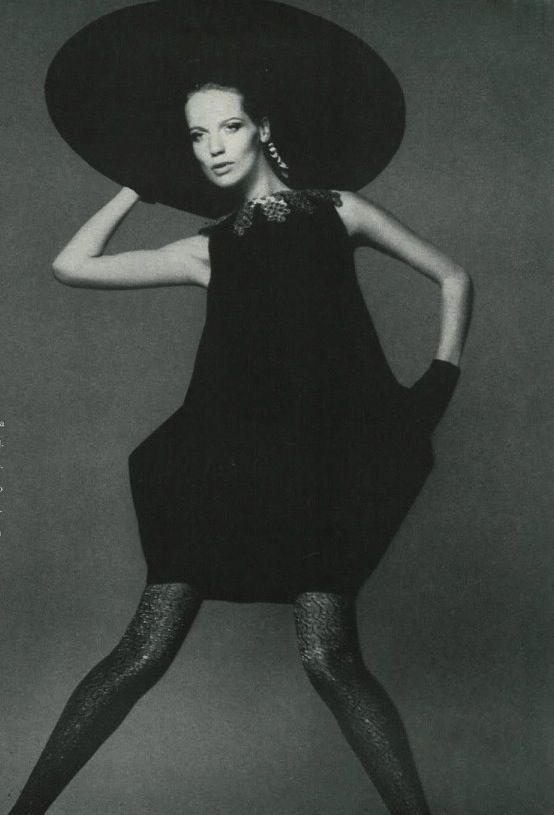 veruschka photographed by richard avedon for vogue 1967