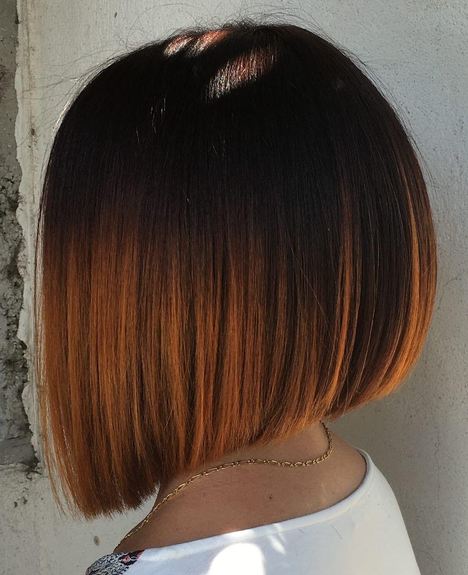 Hair Artist By Kevin Sur Instagram Carre Plongeant Sur Une Couleur De L Automne Carre Carre Plongeant Coiffure Carre Plongeant Coupe Cheveux Carre Court