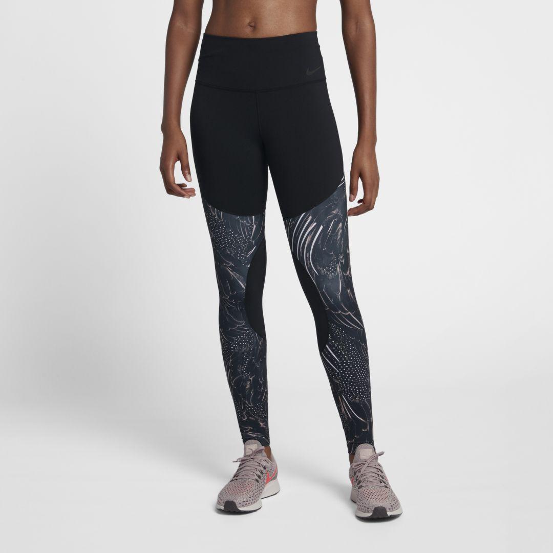 quality design 28e9e 14675 Nike Dri-FIT Power Women s Mid-Rise Training Tights Size M (Black)