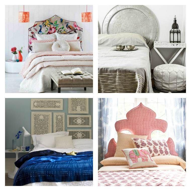 Tête de lit orientale pour une chambre chic et exotique | Chambre ...