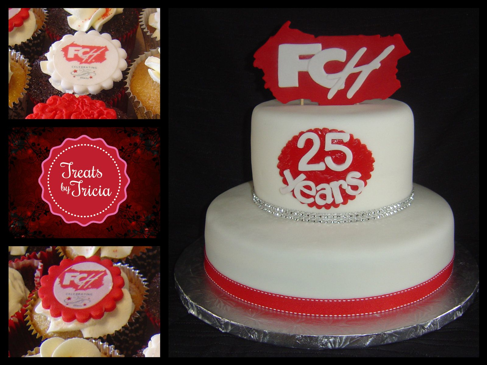 First Choice Haircutters 25th Anniversary Cake Cupcakes Cake 25 Anniversary Cake Anniversary Cake