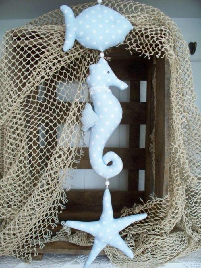 Fabulous girlande maritim selber machen wanddeko maritim blau wei