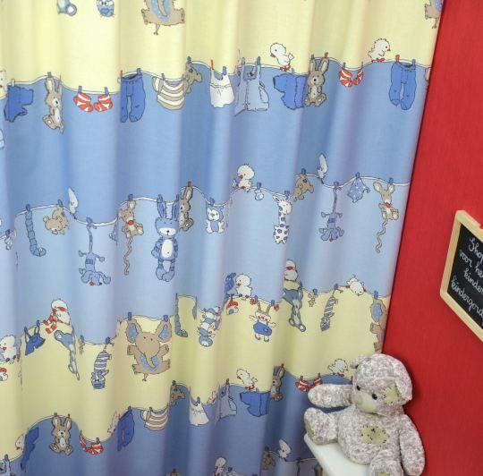 Roze Gordijn Cuddles Wash | LAUNDRY.33.140 | Kindergordijnen | Eva ...