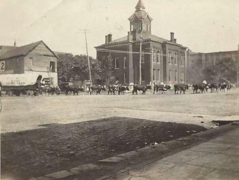 Cullman,Alabama.  First courthouse