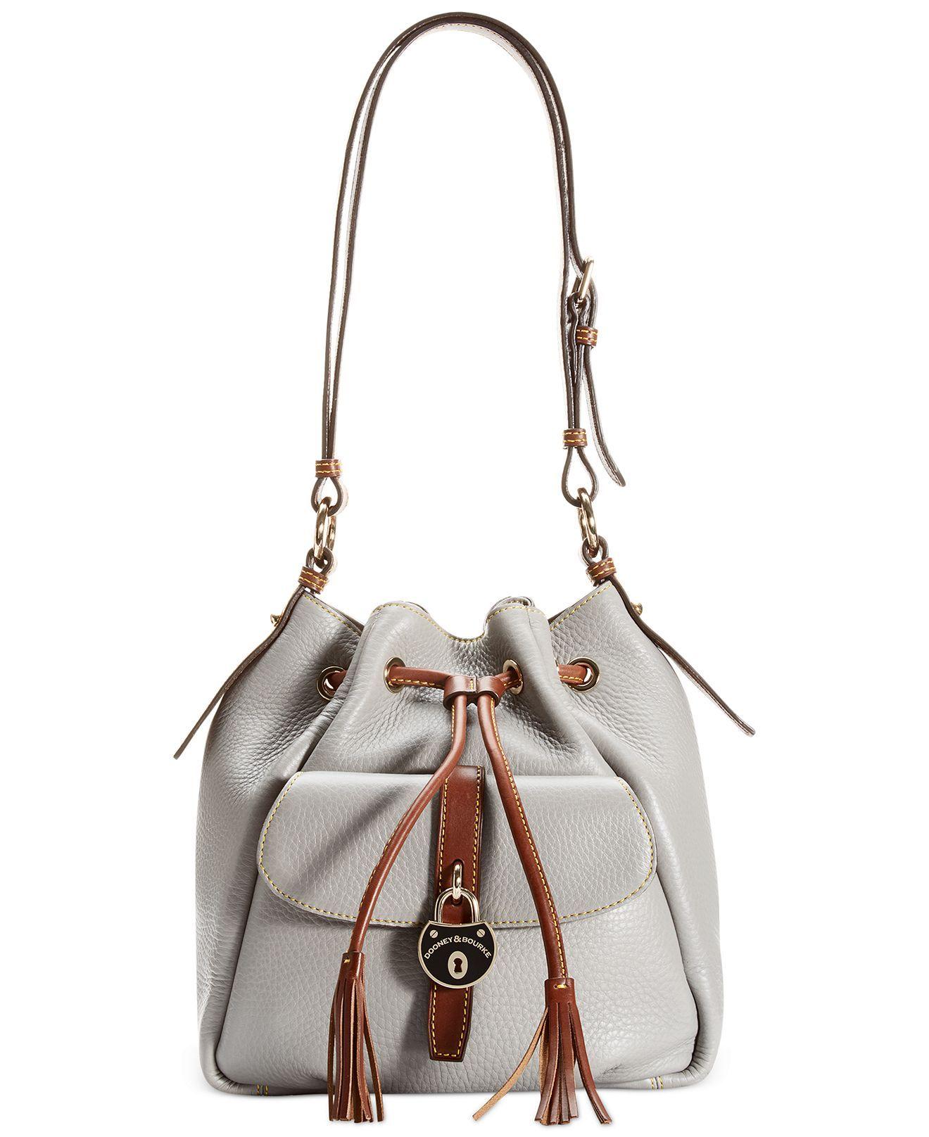 Dooney Bourke Samba Drawstring Bag Handbags Accessories Macy S