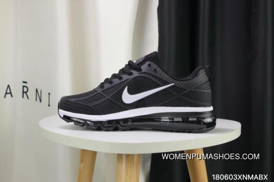 competitive price 34c0c e8d91 Nike Full-palm Cushion Air Max 2019 Black And White New Style