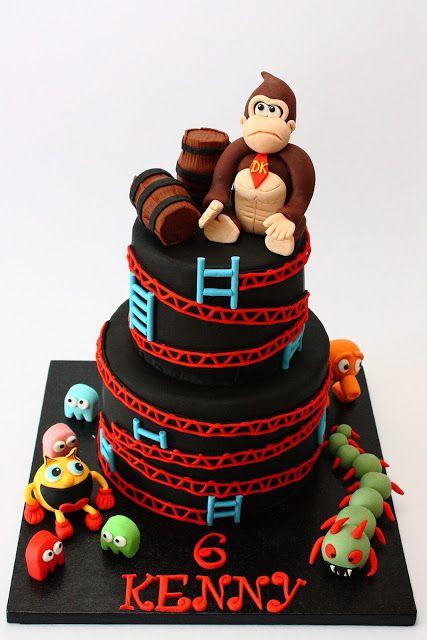Pixels Movie cake