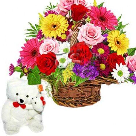 Flower Basket Gift