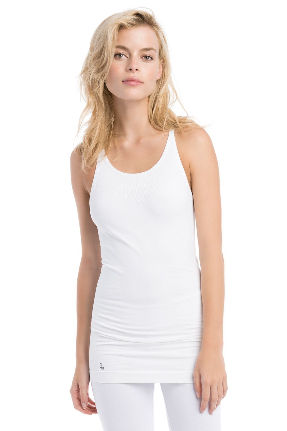 This Elegant Tank Top Is Pose Perfect With Cooling Mesh Inserts
