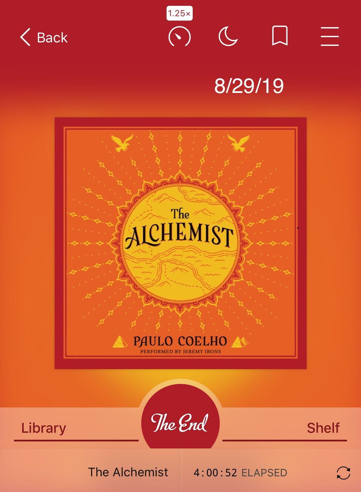 Pin by Jessica Landa on Books I've Read The alchemist
