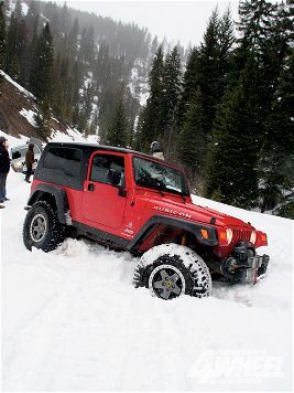 Jeep Wrangler Rubicon, one of the very few vehicles I'd consider getting back in…