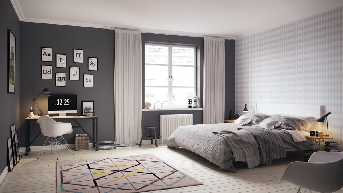 Scandinavian Bedrooms Ideas And Inspiration Masculine Bedroom Design Scandinavian Style Bedroom Apartment Bedroom Decor