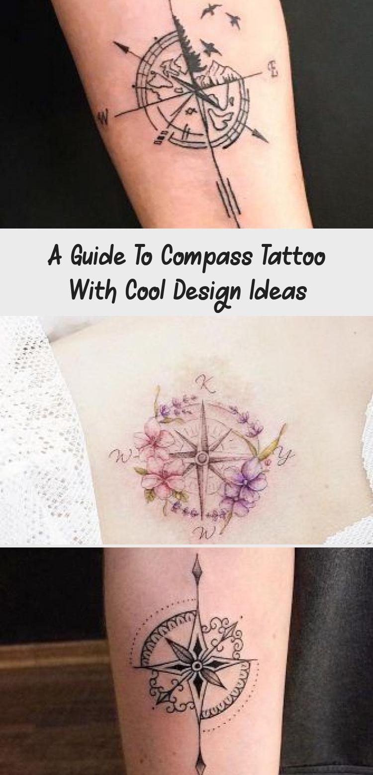 Small Watercolor Tattoo On Back Watercolortattoo Simple Small Feminine Co Small Waterco In 2020 Feminine Compass Tattoo Simple Compass Tattoo Compass Tattoo