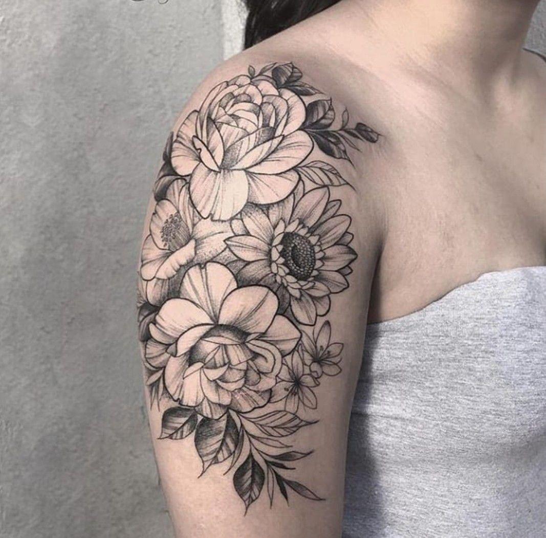 Pin De Yahaira Ixel Ortega Sanchez En Tattoos Tatuaje Flores