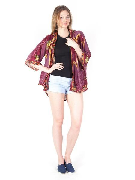 a7c96fc98 Rapsu Burgundy Elephant Kimono Cardigan - The Elephant Pants - Save the  Elephants and Save 10 % use my code at Checkout! DestinyMurphy10