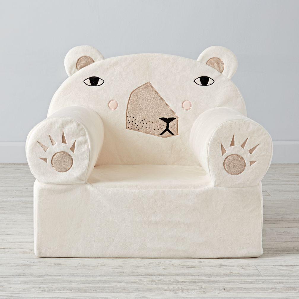 Personalized Bean Bag Chairs For Kids large polar bear nod chair   polar bear, room ideas and room