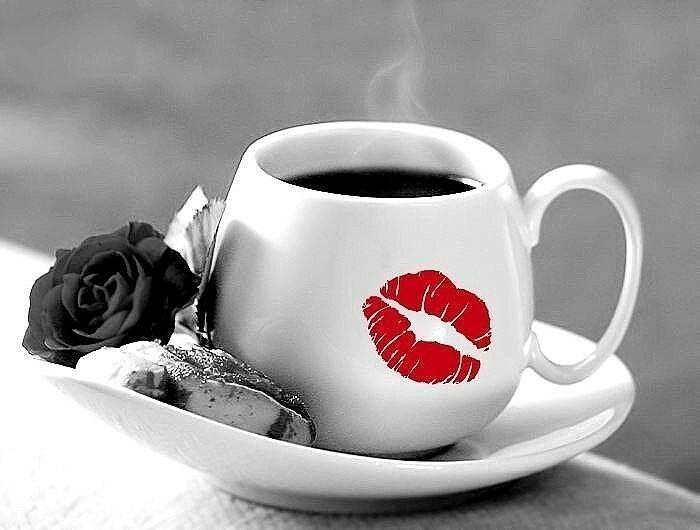 Картинки доброе утречко с поцелуйчиками