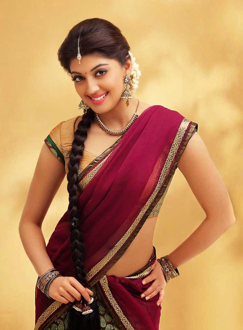 Pranitha Subhash Telugu Actress Latest Hd Images In Saree Indian