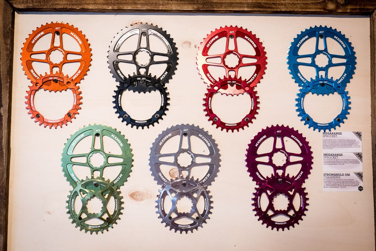 Kore Stronghold Chainring And Megarange Sprocket 2016 Mountain