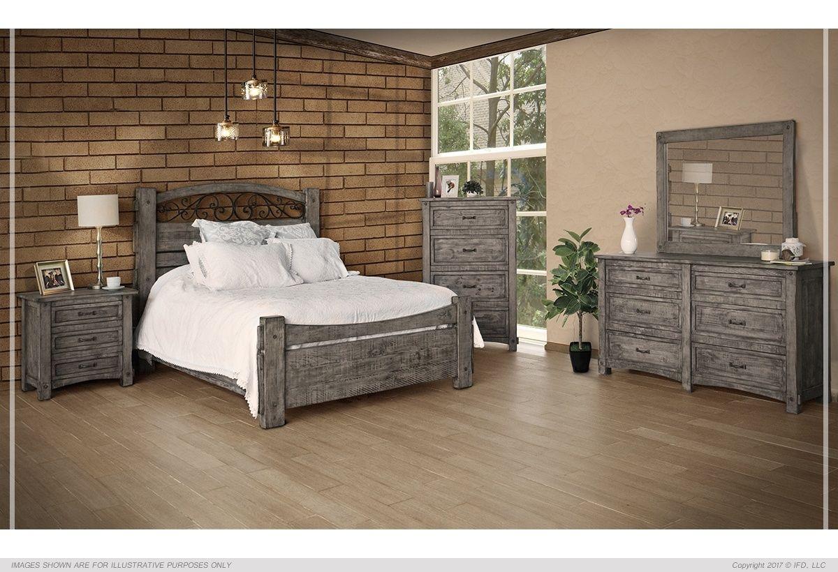 IFD670BEDROOM | Furniture direct, Home furniture, Bed