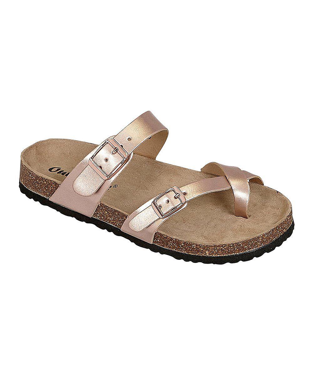 3163d9fa2b5e Rose Gold Outwoods Sandal