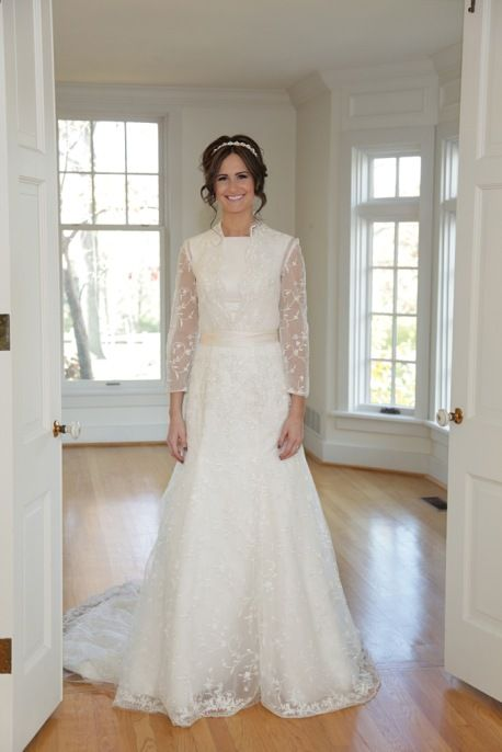 Felice, Epoch Collection, Long Sleeve Modest Wedding Dress. Perfect ...