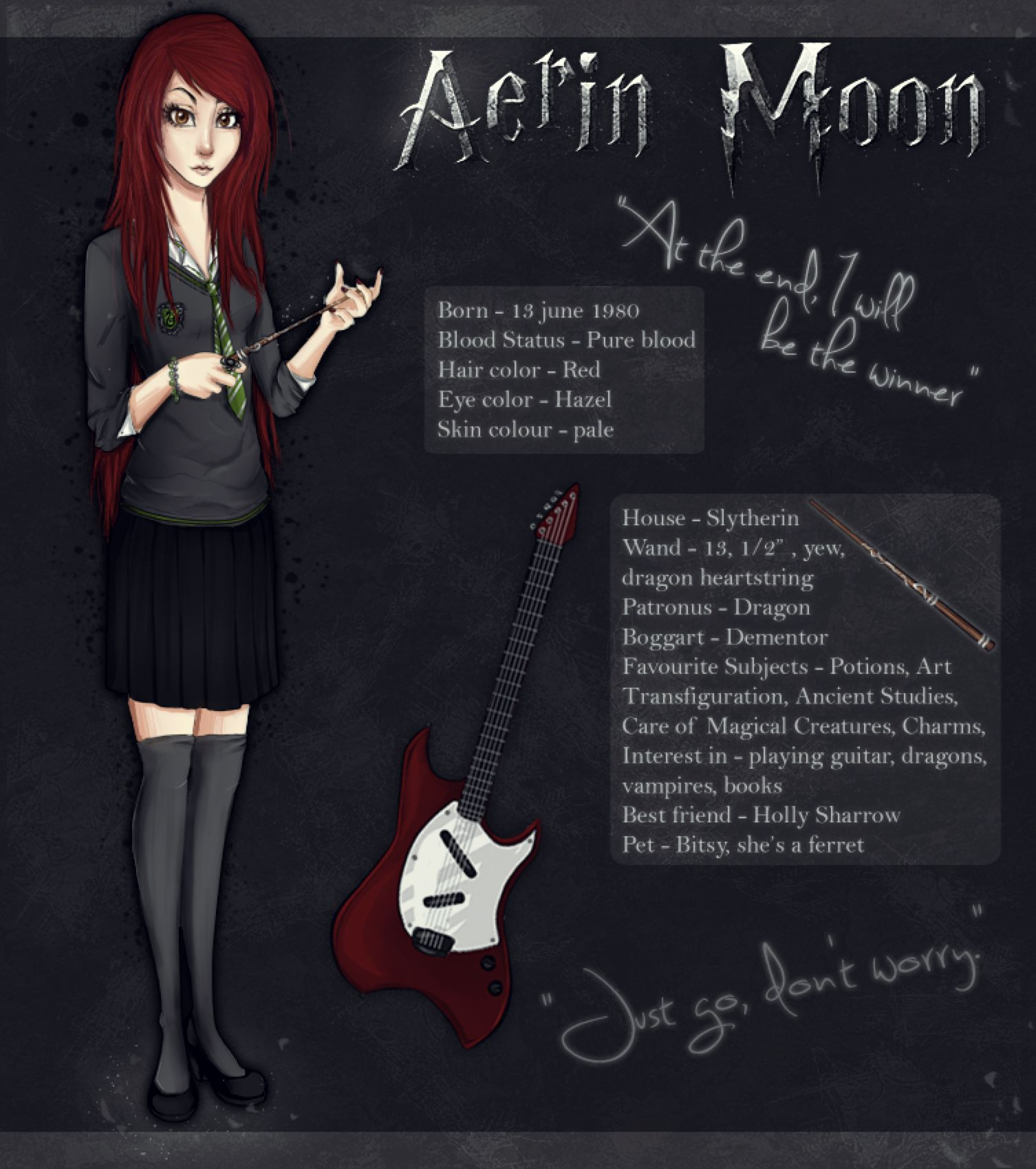 Harry Potter Oc Aerin Moon By Ilireth On Deviantart Harry Potter Oc Hp Harry Potter Potter