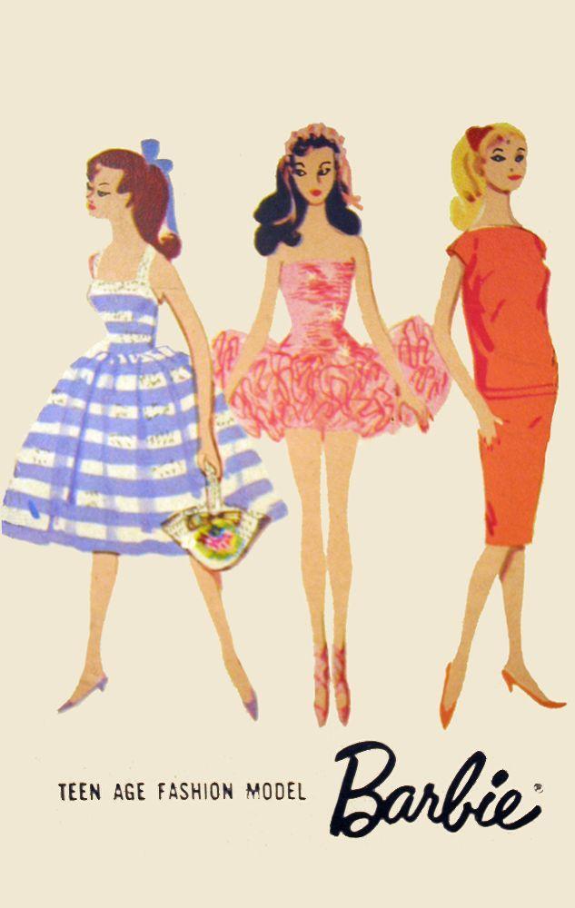 60s barbie magazine art  Google Search  To DrawPaint