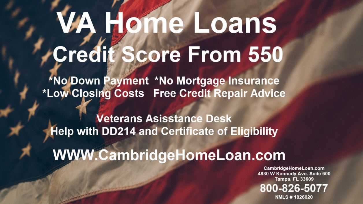 Va Home Loans Refinance And Purchase Loans For Military Personnel