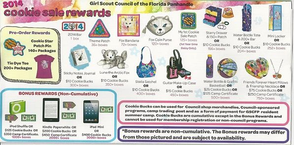 Little Brownie, 2014 | Girl Scout Cookie Patches and Prizes ...