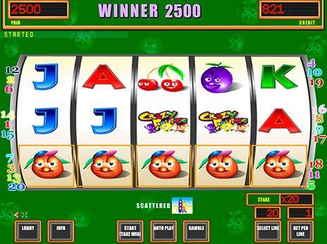 Игровые автоматы онлайн бесплатно crazy fruits азартные слот автоматы играть бесплатно