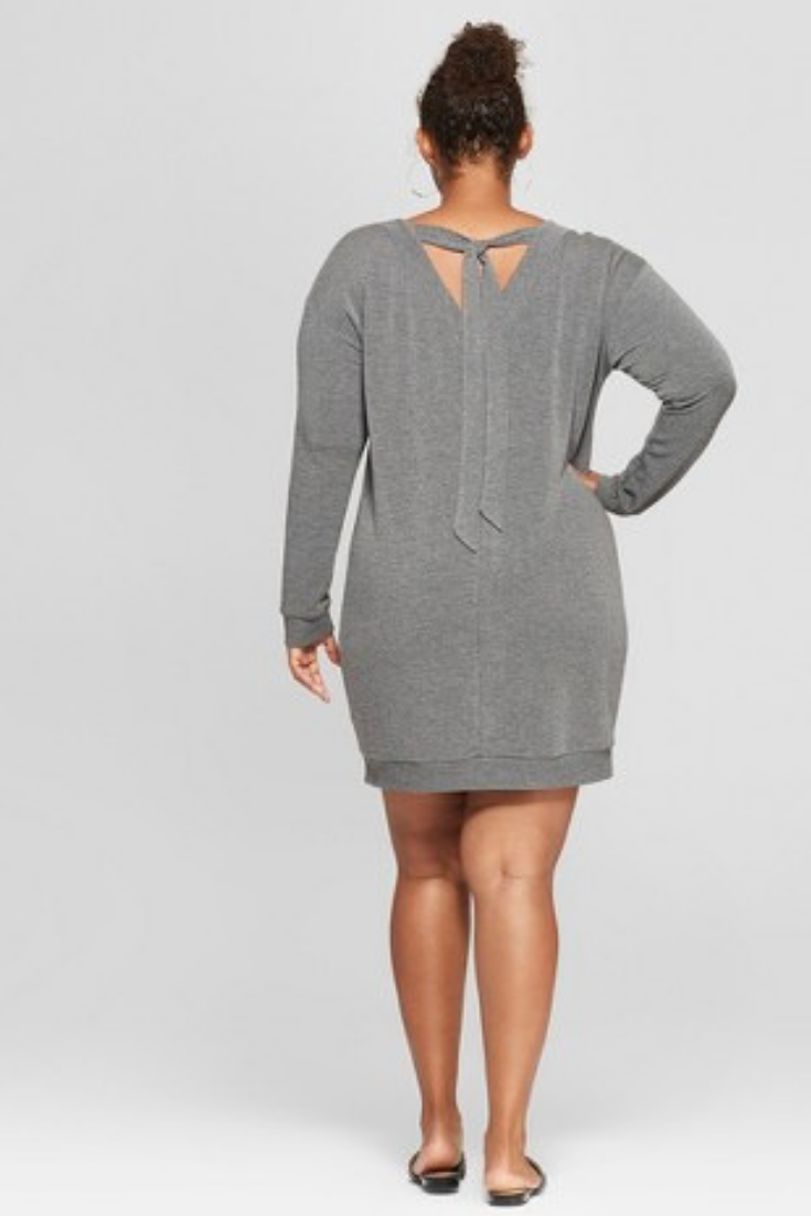 Target Women\'s Plus size Sweatshirt Dress Ava & Viv™. Plus size ...