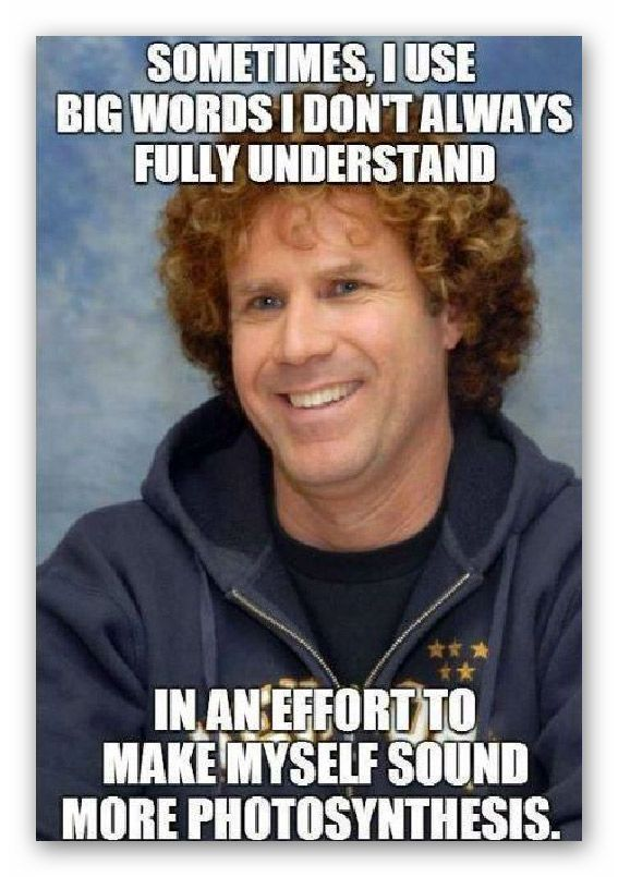Big Words Funny Funny Memes Funny Jokes Will Ferrell