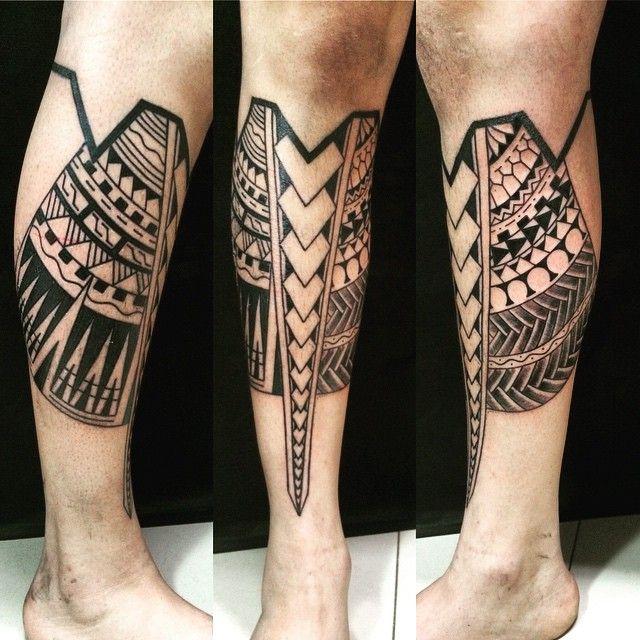Traditional Maori Tattoos Leg: 150 Tribal Samoan Tattoos For Men Women (Ultimate Guide