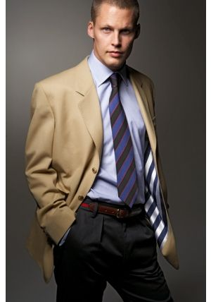 Beige jacket | Mens Biz Wear | Pinterest