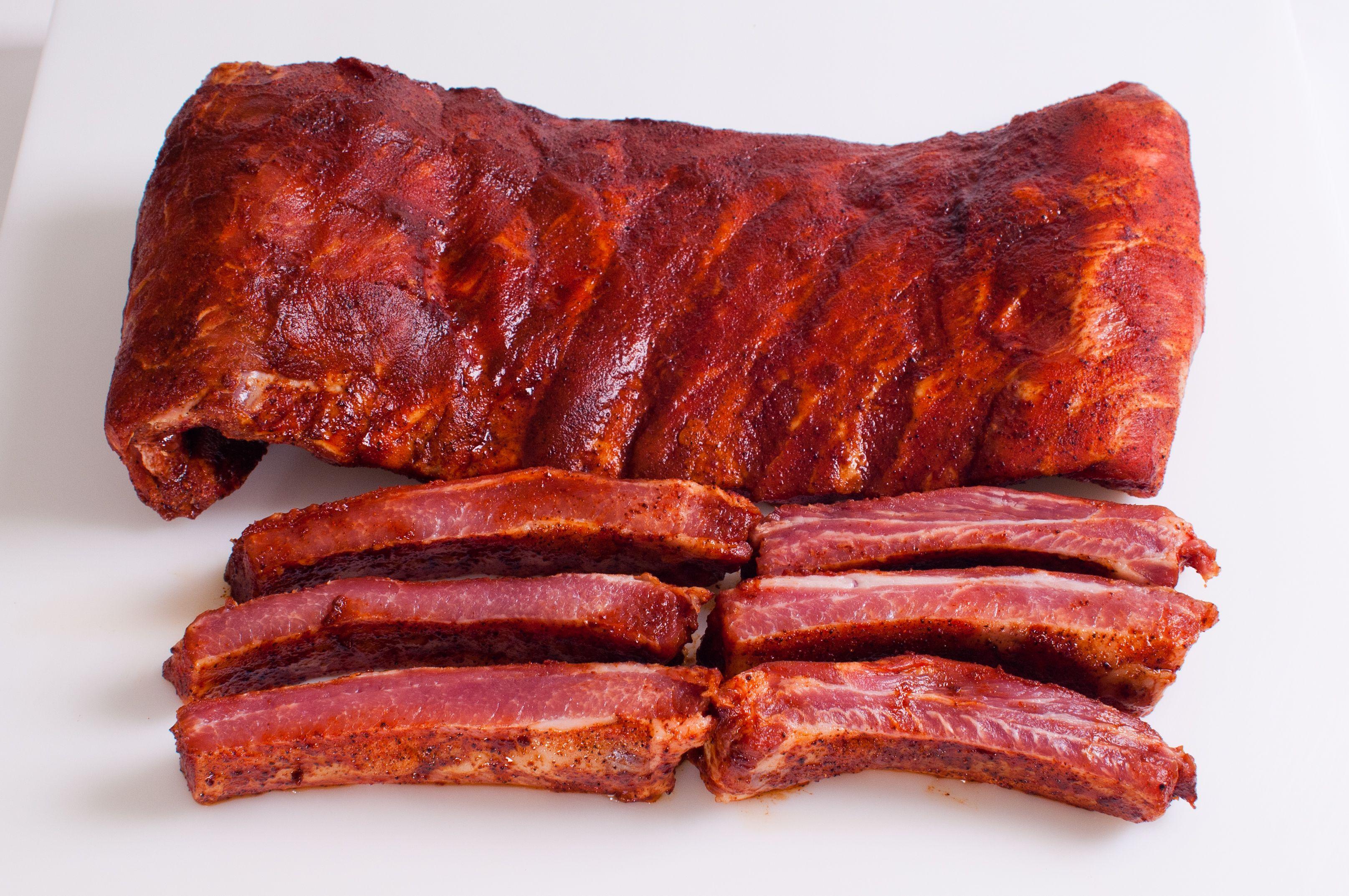 St Louis Style BBQ Ribs Pork